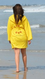 Yellow Adult Beach/Bath Robe